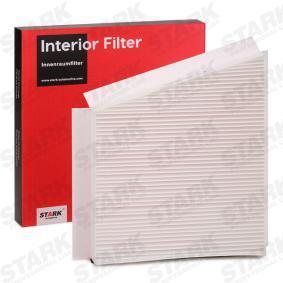 Filter, Innenraumluft Länge: 306mm, Breite: 253mm, Höhe: 34mm mit OEM-Nummer A211 830 0018