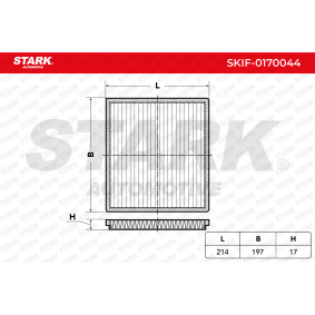 Filter, interior air SKIF-0170044 RAV 4 II (CLA2_, XA2_, ZCA2_, ACA2_) 2.4 4WD MY 2004