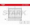 Filtro de aire acondicionado HYUNDAI i30 (FD) 2007 Año 7589858 STARK Filtro antipolen