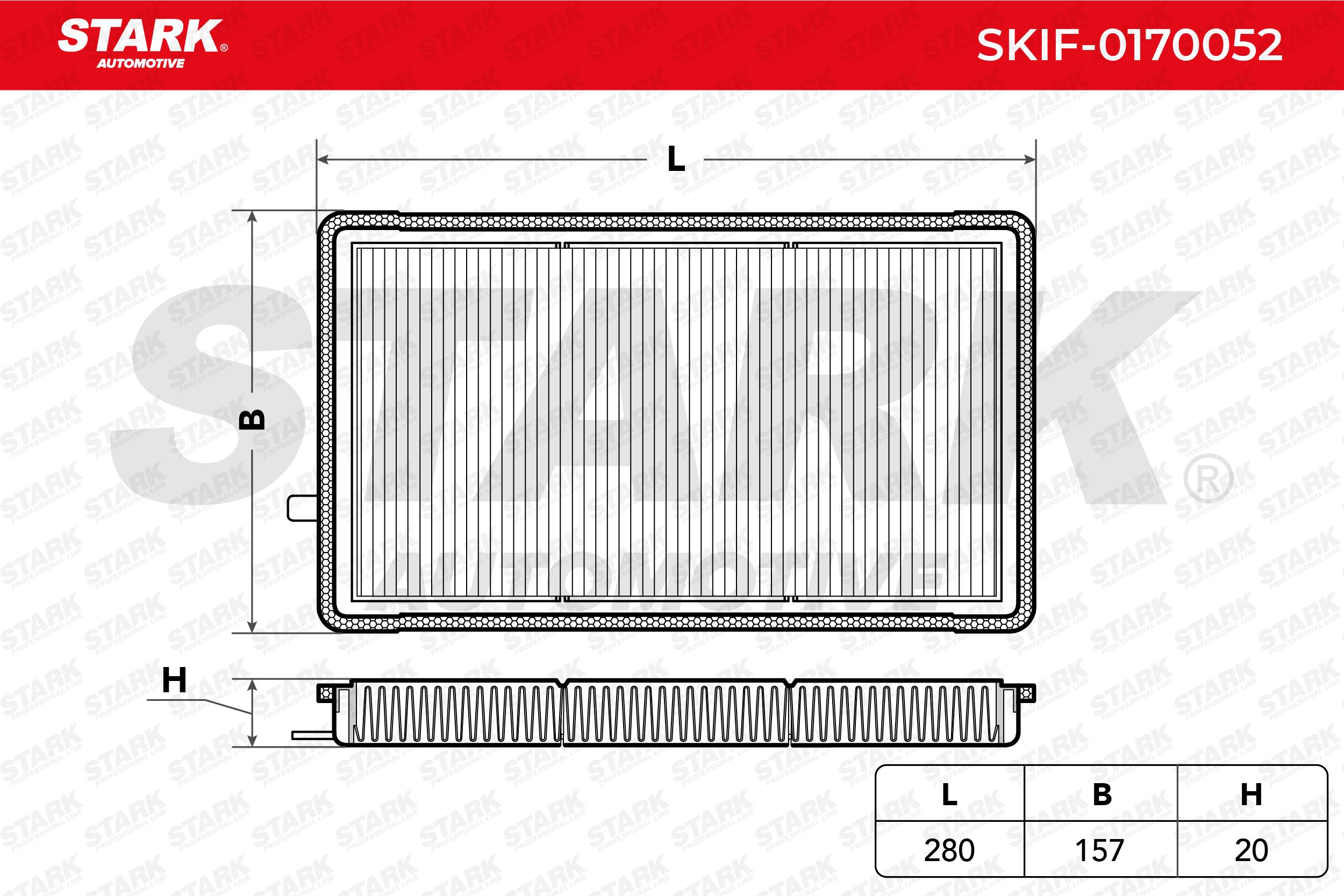 Filtro de Habitáculo SKIF-0170052 STARK SKIF-0170052 en calidad original
