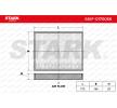 Filtro de aire acondicionado FIAT PUNTO (188) 2000 Año 7589862 STARK Filtro antipolen
