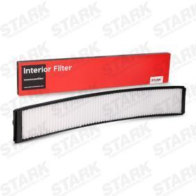 Filter, Innenraumluft Länge: 672mm, Breite: 105mm, Höhe: 20mm mit OEM-Nummer 64 31 9 257 504