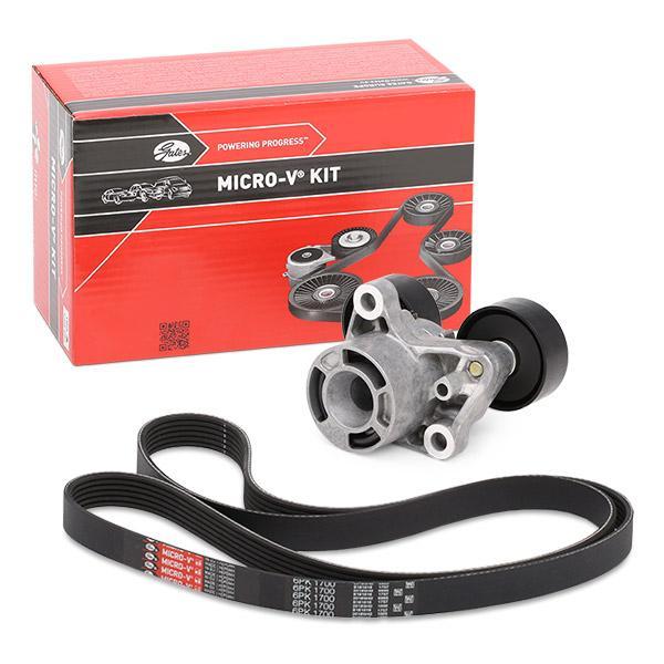 V-Ribbed Belt Set K236PK1700 GATES 788422533 original quality