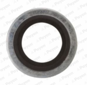 PAYEN  KG5012 Seal, oil drain plug Ø: 23,00mm, Thickness: 1,500mm, Inner Diameter: 16,70mm