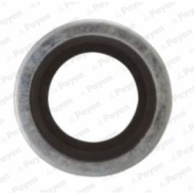 Seal, oil drain plug Ø: 23,00mm, Thickness: 1,500mm, Inner Diameter: 16,70mm with OEM Number 7700 266 044