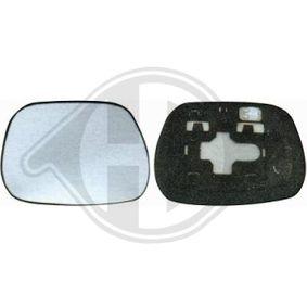 Mirror Glass, outside mirror 6686026 RAV 4 II (CLA2_, XA2_, ZCA2_, ACA2_) 2.0 D 4WD (CLA20_, CLA21_) MY 2003