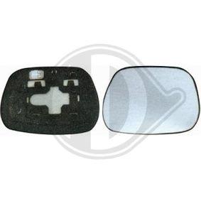Mirror Glass, outside mirror 6686027 RAV 4 II (CLA2_, XA2_, ZCA2_, ACA2_) 2.0 D 4WD (CLA20_, CLA21_) MY 2005