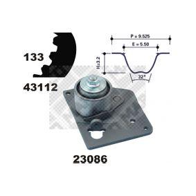 Timing Belt Set Width: 26mm with OEM Number 7701474443