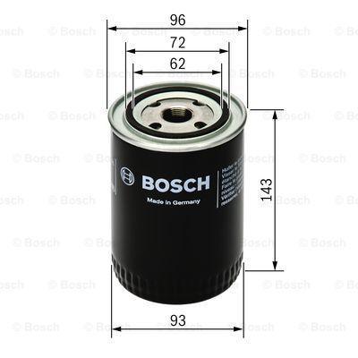 Ölfilter BOSCH P7083 4047024739765