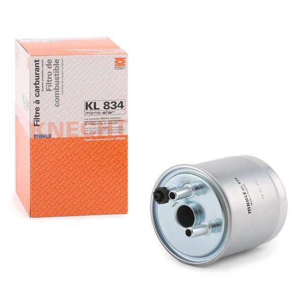 Filtru combustibil MAHLE ORIGINAL KL834 cunoștințe de specialitate