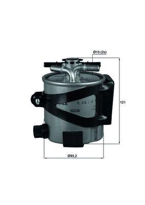 MAHLE ORIGINAL  KLH 44/17 Filtru combustibil