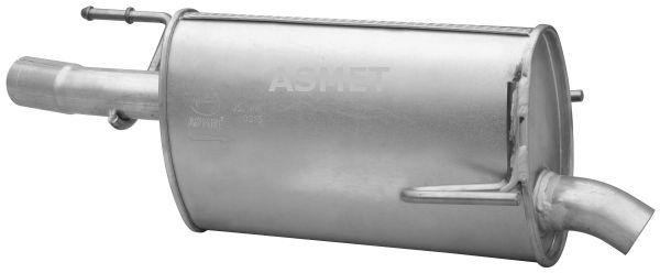 ASMET  05.186 Endschalldämpfer