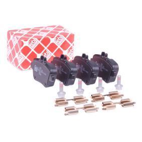Bremsbelagsatz, Scheibenbremse Breite: 59,0mm, Dicke/Stärke 1: 17mm mit OEM-Nummer A 007 420 94 20