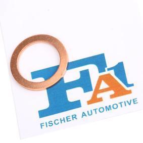 Уплътнителен пръстен, пробка за източване на маслото Ø: 20мм, дебелина: 1,5мм, вътрешен диаметър: 14мм с ОЕМ-номер N 13 849.2