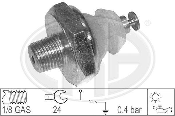 ERA  330008 Interruptor de control de la presión de aceite