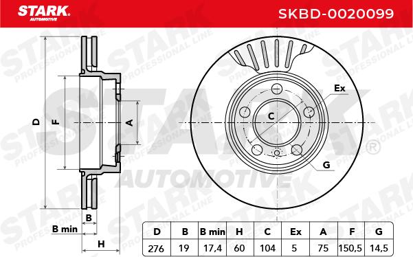 STARK SKBD-0020099 EAN:4059191040988 Shop