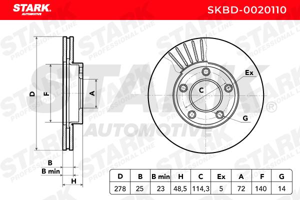 STARK SKBD-0020110 EAN:4059191042807 online store