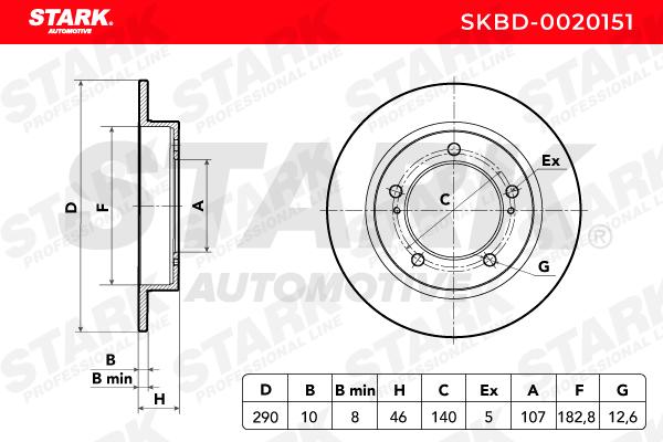 Nº de artículo SKBD-0020151 STARK precios