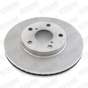 Brake Disc SKBD-0020243 RAV 4 II (CLA2_, XA2_, ZCA2_, ACA2_) 2.0 D 4WD (CLA20_, CLA21_) MY 2001
