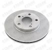Brake disc kit STARK 7607692 Front Axle, Vented