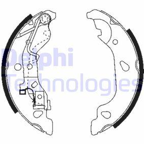 Brake Shoe Set LS1859 PUNTO (188) 1.2 16V 80 MY 2004