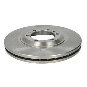 Bremsscheibe Bremsscheibendicke: 26mm, Lochanzahl: 6, Ø: 280mm mit OEM-Nummer 8943724350