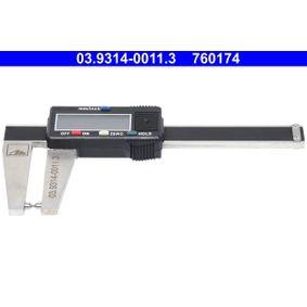 ATE Vernier Calliper, brake disc thickness 03.9314-0011.3