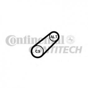Polo 6R 1.6 Keilrippenriemensatz CONTITECH 6PK701 ELAST T1 (1.6 Benzin 2015 CWVB)