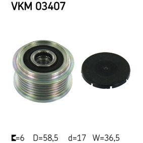 SKF  VKM 03407 Generatorfreilauf