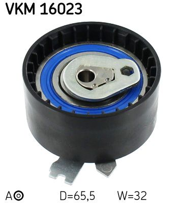 SKF  VKM 16023 Spannrolle, Zahnriemen Ø: 65,5mm