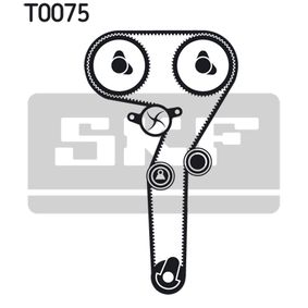 Timing Belt Set with OEM Number 5523 8027