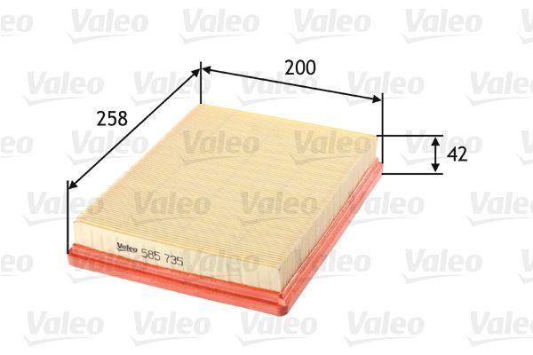 Filter 585735 VALEO 585735 in Original Qualität