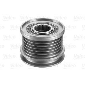 Freilauf Lichtmaschine VW PASSAT Variant (3B6) 1.9 TDI 130 PS ab 11.2000 VALEO Generatorfreilauf (588014) für