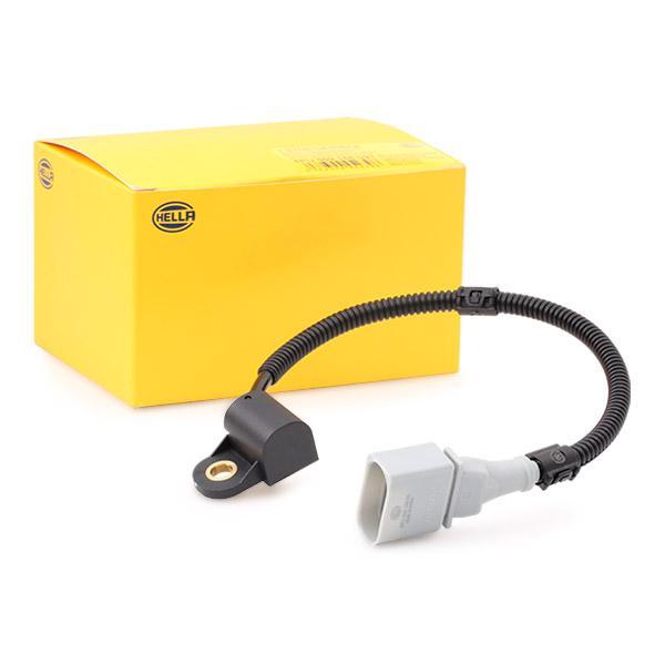 HELLA  6PU 009 168-091 Sensor, posición arbol de levas Número de conexiones: 3, Long. cable: 330mm