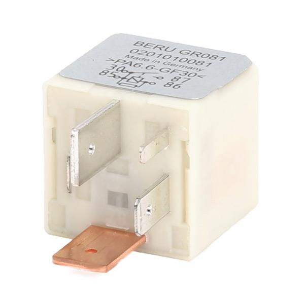 Control Unit, glow plug system BERU 0201010081 4044197768882