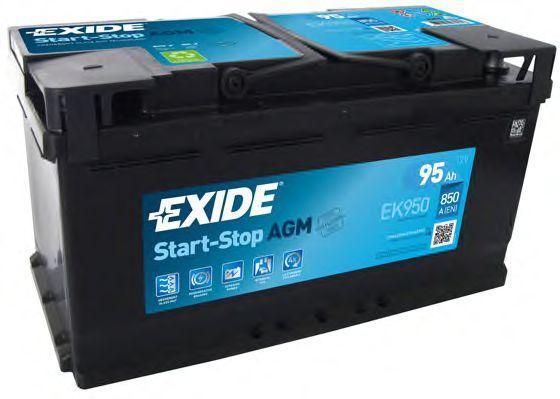 Batterie EXIDE EK950017AGM Bewertung