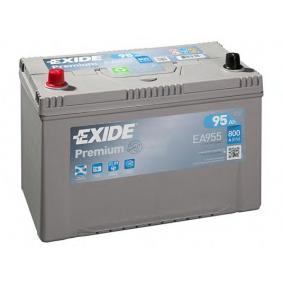 EXIDE Starterbatterie 12V 95Ah 800A D31 Bleiakkumulator