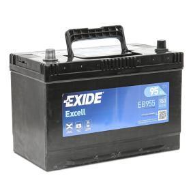 EXIDE Starterbatterie 12V 95Ah 760A D31 Bleiakkumulator