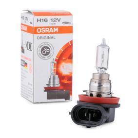 Крушка с нагреваема жичка, фар за мъгла H16, PGJ19, 19ват, 12волт, ORIGINAL 64219L+