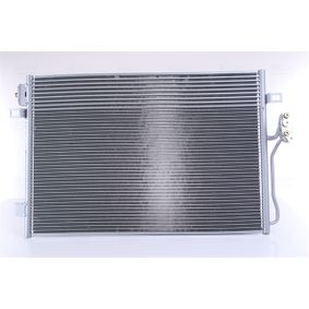 Kondensator, Klimaanlage Netzmaße: 687 x 444 x 16 mm mit OEM-Nummer 68038 244AA