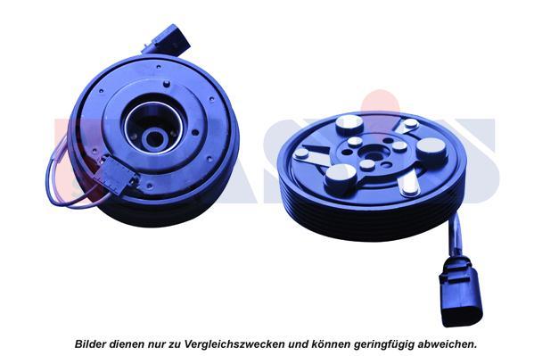 AKS DASIS Magneettikytkin, ilmastointikompressori