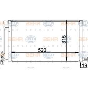 Kondensator, Klimaanlage 8FC 351 038-214 3 Limousine (E46) 320d 2.0 Bj 2001