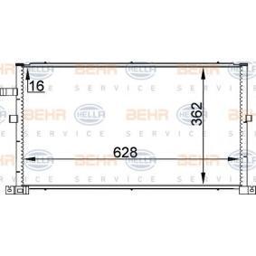 Kondensator, Klimaanlage 8FC 351 300-324 MONDEO 3 Kombi (BWY) 2.0 TDCi Bj 2001