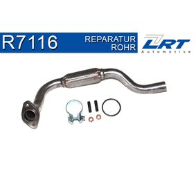 Reparaturrohr, Katalysator mit OEM-Nummer 93173351