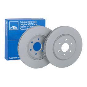 Bremsscheibe Bremsscheibendicke: 28,0mm, Lochanzahl: 6, Ø: 320,0mm mit OEM-Nummer 40206-3X00B