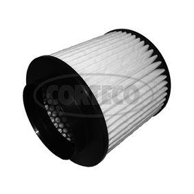 Luftfilter Länge: 160mm, Höhe: 152mm mit OEM-Nummer 4H0 129 620 F