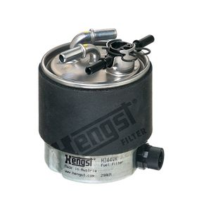 Fuel filter Height: 121mm with OEM Number 16400-JD52D