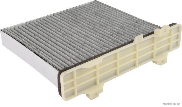 HERTH+BUSS JAKOPARTS  J1345014 Filter, Innenraumluft Höhe: 66mm, Länge außen: 239,5mm, Breite außen: 228mm, Breite innen: 212mm