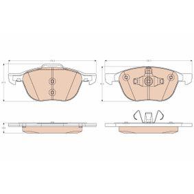 Bremsbelagsatz, Scheibenbremse Höhe 1: 62,20mm, Höhe 2: 67,00mm, Dicke/Stärke: 18,00mm mit OEM-Nummer 3 134 130 1