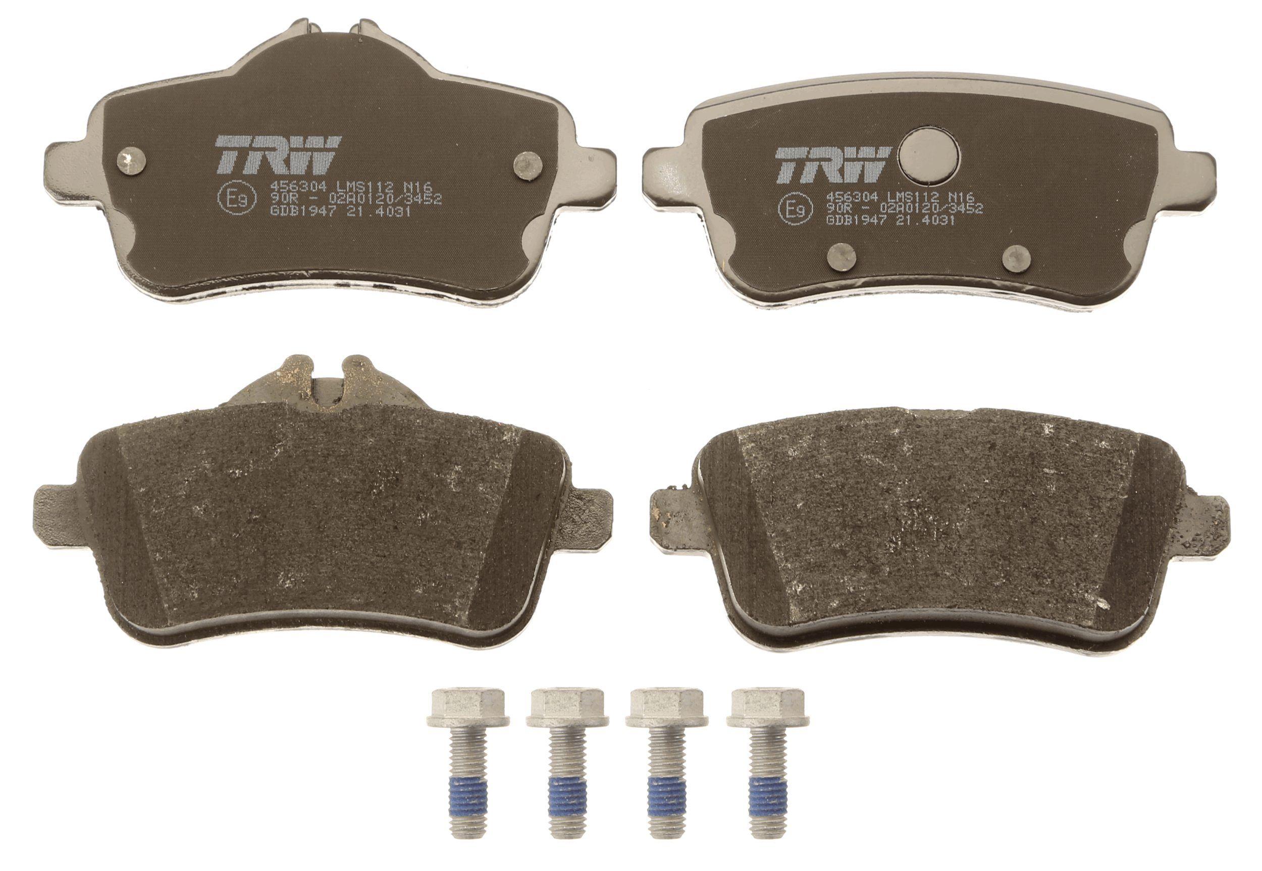 Bremsbelagsatz TRW 25215 Bewertung